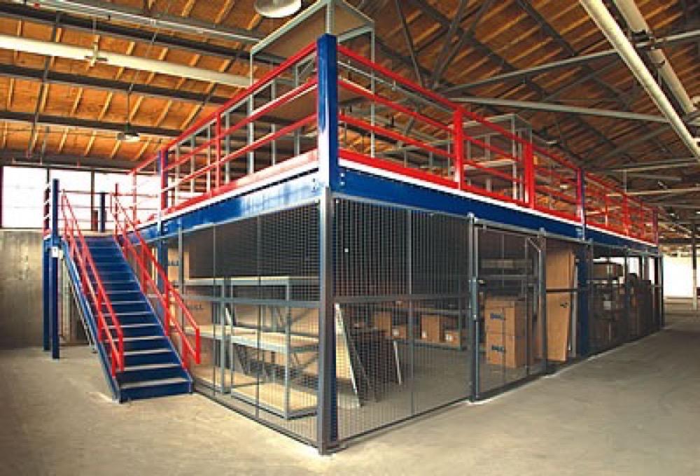 Industrial Mezzanine Floors Commercial Mezzanine